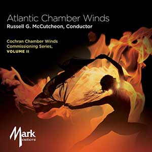 CD Cover Atlantic Chamber Winds Cochran Chamber Winds Commissioning Series Volume 2